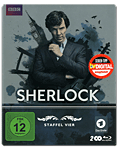 Sherlock: Staffel 4 Box - Steelbook Edition Blu-ray (2 Discs)