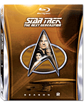 Star Trek The Next Generation: Season 2 Box Blu-ray (5 Discs)
