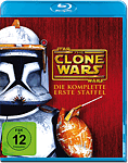 Star Wars: The Clone Wars - Die komplette 1. Staffel Blu-ray (3 Discs)