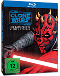 Star Wars: The Clone Wars - Die komplette 4. Staffel Blu-ray (3 Discs)