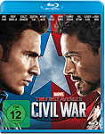 The First Avenger: Civil War Blu-ray (Blu-ray Filme)