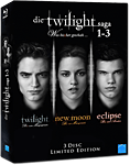 Die Twilight Saga 1-3 - Limited Edition Blu-ray (3 Discs)
