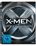 X-Men - Complete Collection Blu-ray (5 Discs) (Blu-ray Filme)