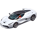Carrera Auto LaFerrari (White Metallic)