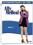 Ally McBeal: Staffel 1 Box (6 DVDs)