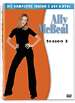 Ally McBeal: Staffel 2 Box (6 DVDs) (DVD Filme)