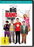 The Big Bang Theory: Staffel 2 Box (4 DVDs) (DVD Filme)
