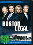 Boston Legal: Season 4 Box (5 DVDs) (DVD Filme)