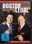 Boston Legal: Season 5 Box (4 DVDs) (DVD Filme)
