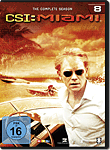 CSI: Miami - Die komplette Season 08 Box (6 DVDs) (DVD Filme)