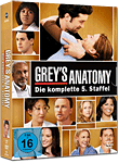 Grey's Anatomy: Staffel 05 Box (7 DVDs)