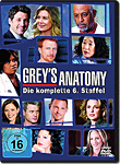 Grey's Anatomy: Staffel 06 Box (6 DVDs)