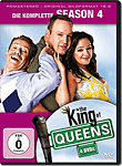 The King of Queens: Staffel 4 (4 DVDs)