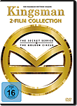 Kingsman 1+2 (2 DVDs)