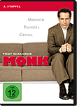 Monk: Staffel 3 (4 DVDs) (DVD Filme)