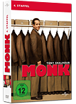 Monk: Staffel 4 (4 DVDs) (DVD Filme)