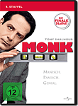 Monk: Staffel 8 (4 DVDs) (DVD Filme)