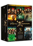 Pirates of the Caribbean - 5-Movie Collection (5 DVDs)