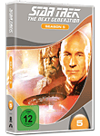 Star Trek The Next Generation: Season 5 Box (6 DVDs) (DVD Filme)