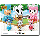 amiibo Animal Crossing: 3er Set (Björn, K. K., Rosina) (Figuren)