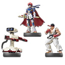 amiibo Super Smash Bros - Wave 10 (3 Figuren)