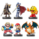 amiibo Super Smash Bros - Wave 05 (6 Figuren)