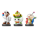 amiibo Super Smash Bros - Wave 08 (3 Figuren)