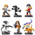amiibo Super Smash Bros - Wave 09 (6 Figuren) (Figuren)