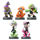 amiibo Splatoon - Wave 1 (5 Figuren)