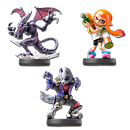 amiibo Super Smash Bros - Wave 11 (3 Figuren)