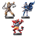 amiibo Super Smash Bros - Wave 16 (3 Figuren)