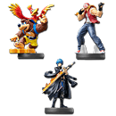 amiibo Super Smash Bros - Wave 18 (3 Figuren)