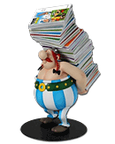 Asterix - Obelix Stack of Comic Books