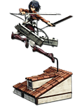 Attack on Titan - Mikasa Ackerman (DX)