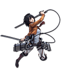 Attack on Titan - Mikasa Ackerman (Training Corps Ver.)