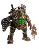 BioShock - Big Daddy & Little Sister
