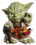 Candy Bowl Holder - Star Wars Yoda Small