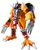 Digimon Adventure - Wargreymon & Agumon