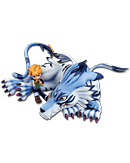 Digimon Adventure - Garurumon & Matt