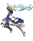 Fate/stay night - Saber (Triumphant Excalibur)
