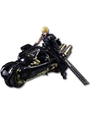 Final Fantasy 7: Advent Children - Cloud Strife (Fenrir Motorbike)