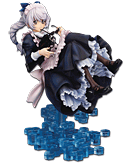 Full Metal Panic! Invisible Victory - Teletha Testarossa (Maid Version)