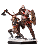 God of War - Kratos & Atreus (Iron Studios)