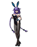 Hyperdimension Neptunia - Purple Heart (Bunny Version)
