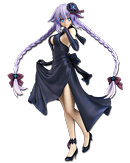 Hyperdimension Neptunia - Purple Heart (Dress)