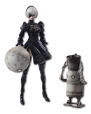 NieR: Automata - YoRHa No. 2 Type B & Machine Lifeform