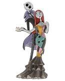 Nightmare before Christmas - Jack and Sally Deluxe