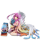 No Game No Life - Jibril & Shiro