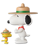 Peanuts - Snoopy & Woodstock (Beagle Scout)