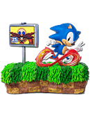 Sonic the Hedgehog - Sonic Diorama (25th Anniversary)